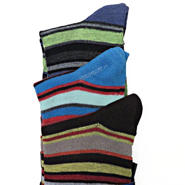 3-pack randiga strumpor