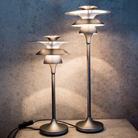 Designade bordslampor, snygga fönsterlampor online