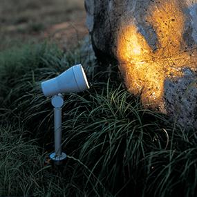 230V utelampor för trädgården