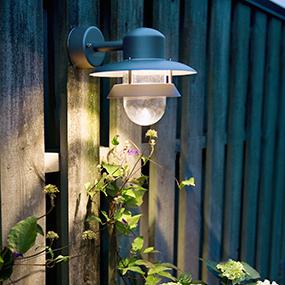 Vägglampa - Ytterlampa för vägg