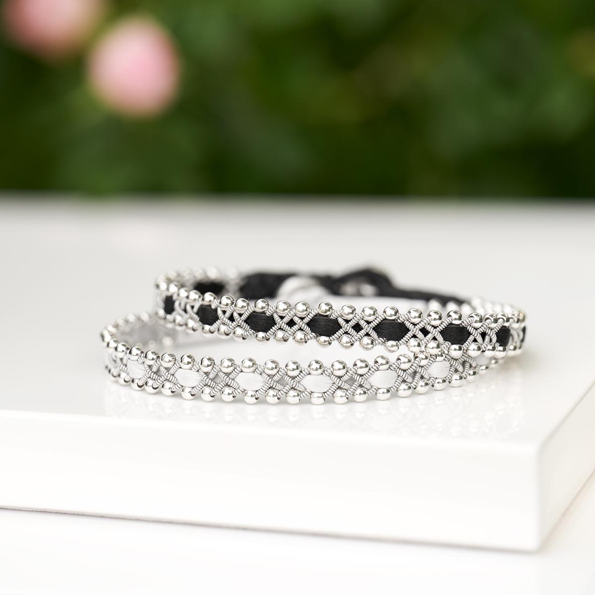 tenntrådsarmband nordic jewelry design