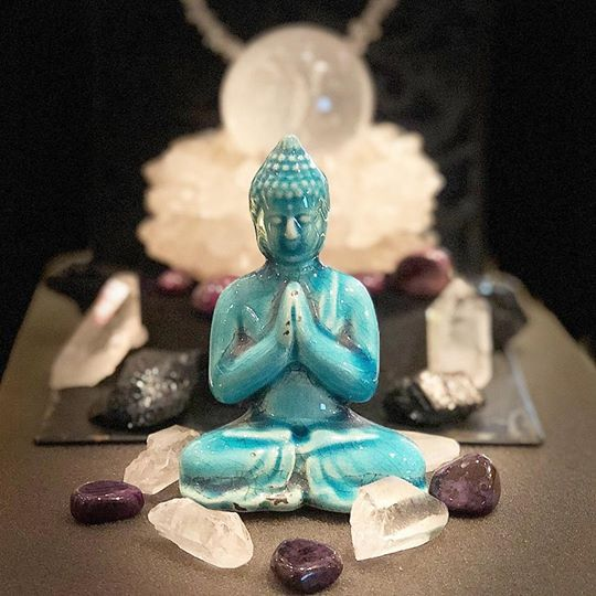 Kristallrummet buddha trendamore smycken