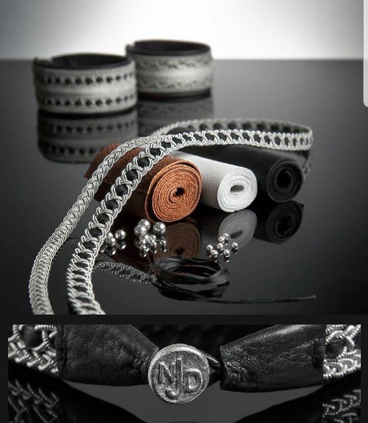 samiskt hantverk tennarmband nordic jewelry design