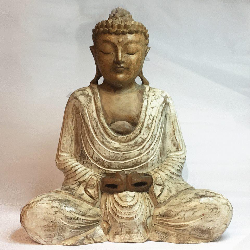 staty buddha kristallrummet armband