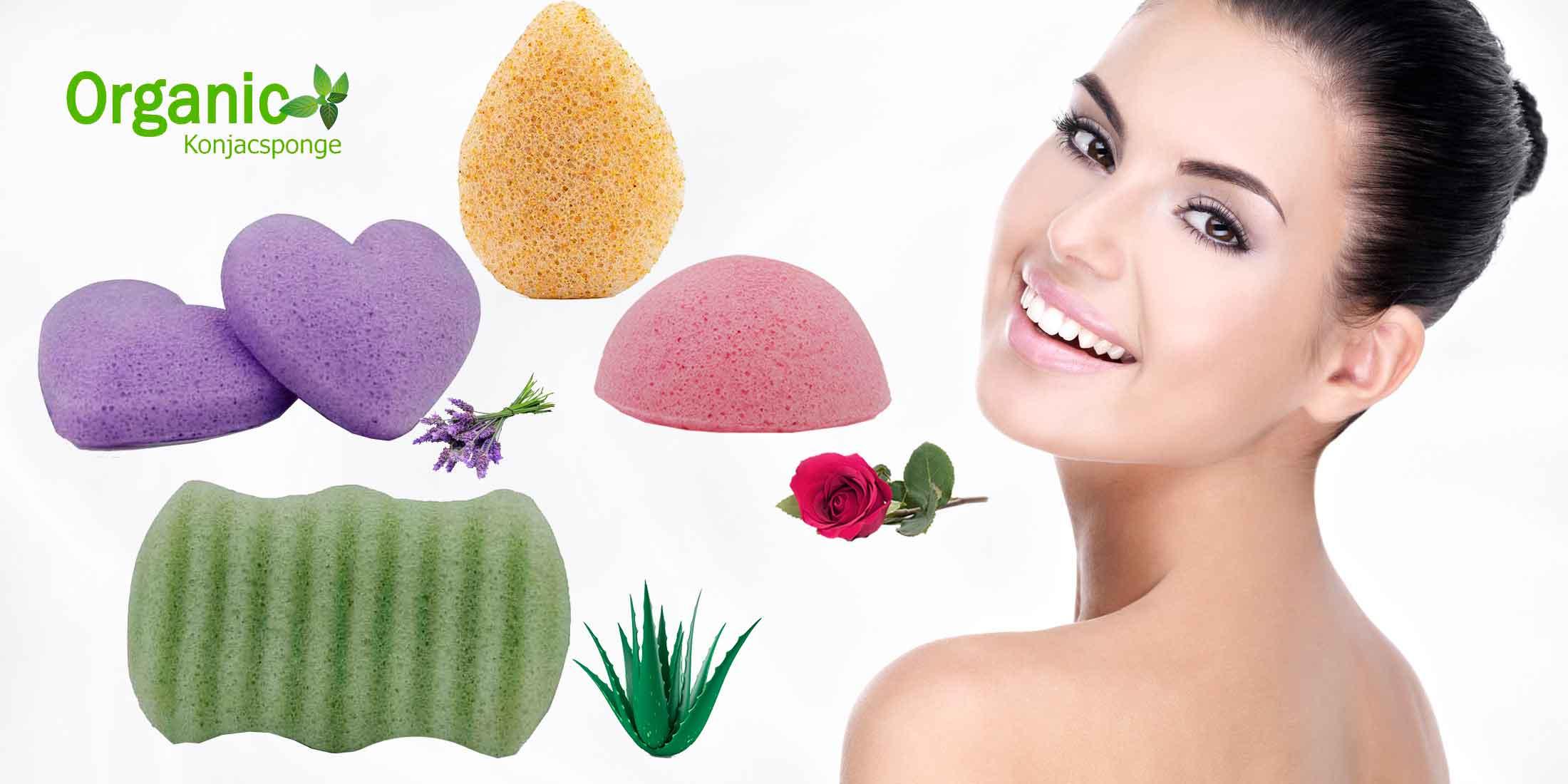 Organic Konjac Sponge tvättsvampar