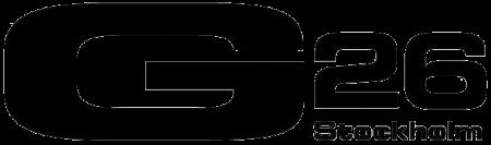 G26 Stockholm logo