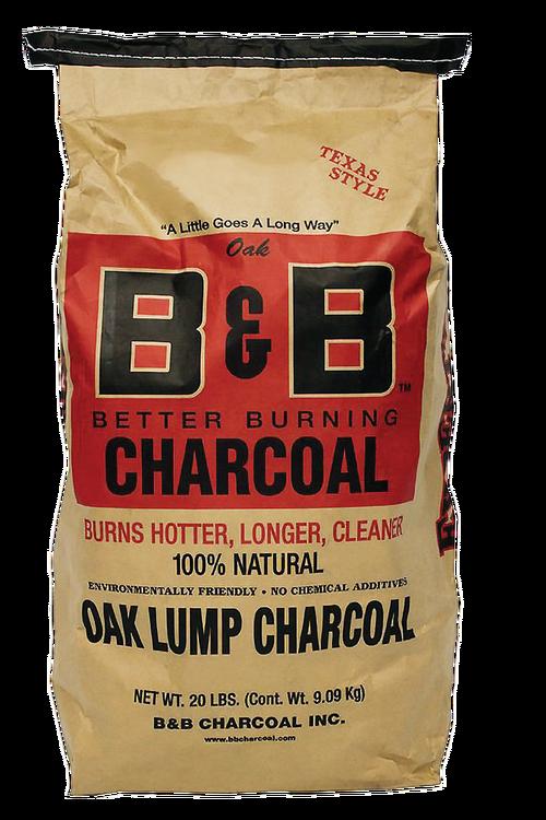 B&B Oak Lump Charcoal 9 kg