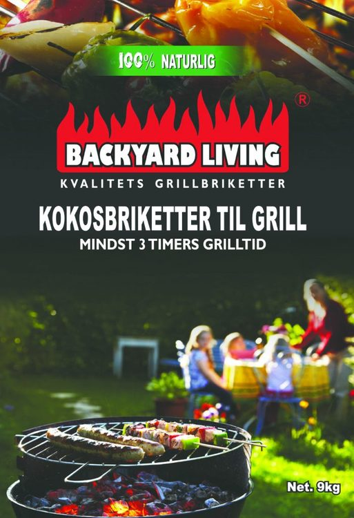 Backyard Living Kokosbriketter 9kg
