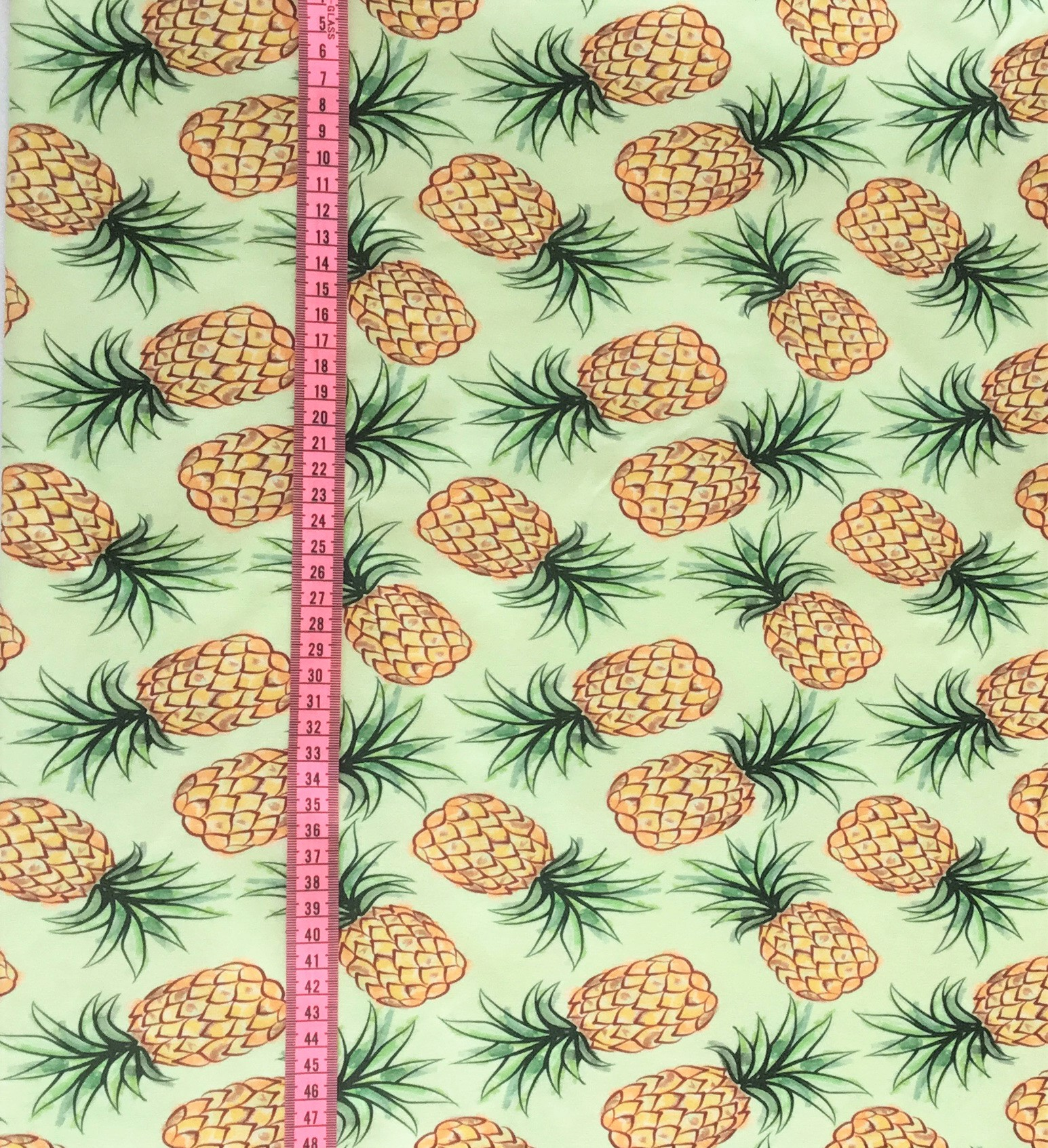 Ananas Big, Ljusgrön #537, ekotyg/GOTS