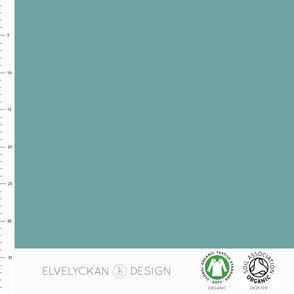 Enfärgat, Aqua (Blågrönt) #592, ekotyg