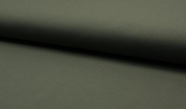 Enfärgat Collegetrikå, Armygrön #472 (öglad baksida), ökotex