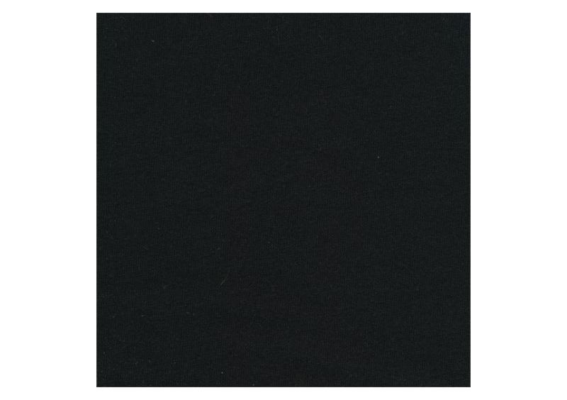 Enfärgat Collegetrikå, Svart #473 (öglad baksida), ökotex