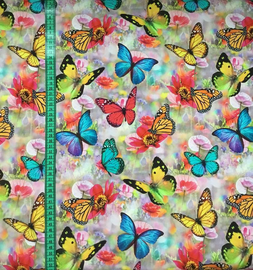Fjärilar, Pastell #494, ökotex