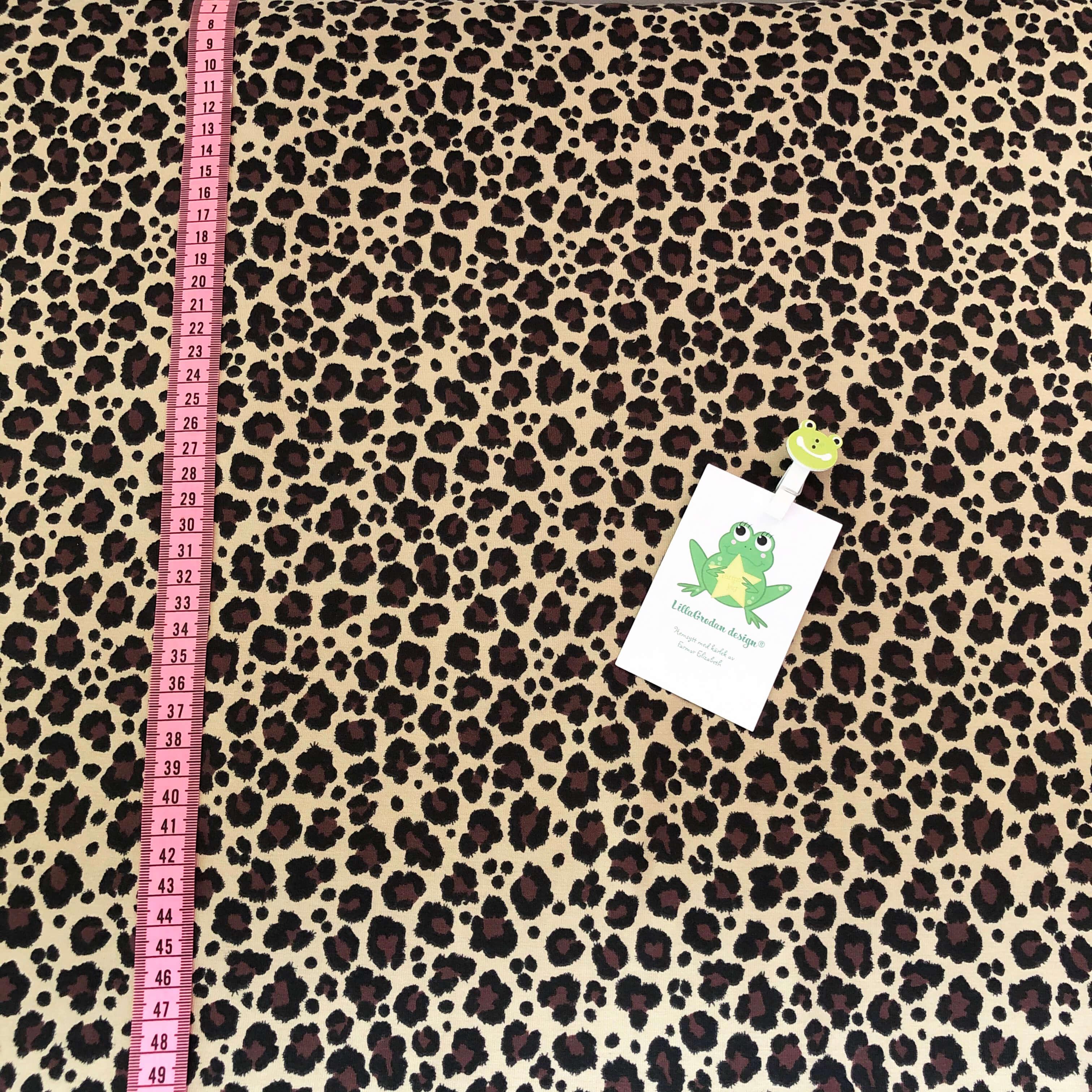 Leopard Mini, BrunBeige #605, ökotex