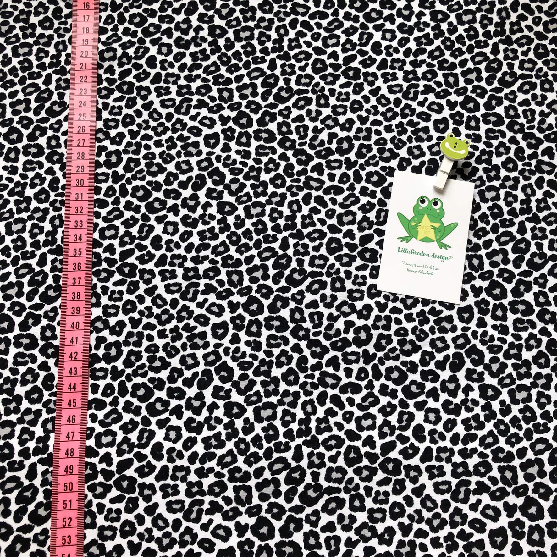 Leopard Mini, GråSvart #606, ökotex