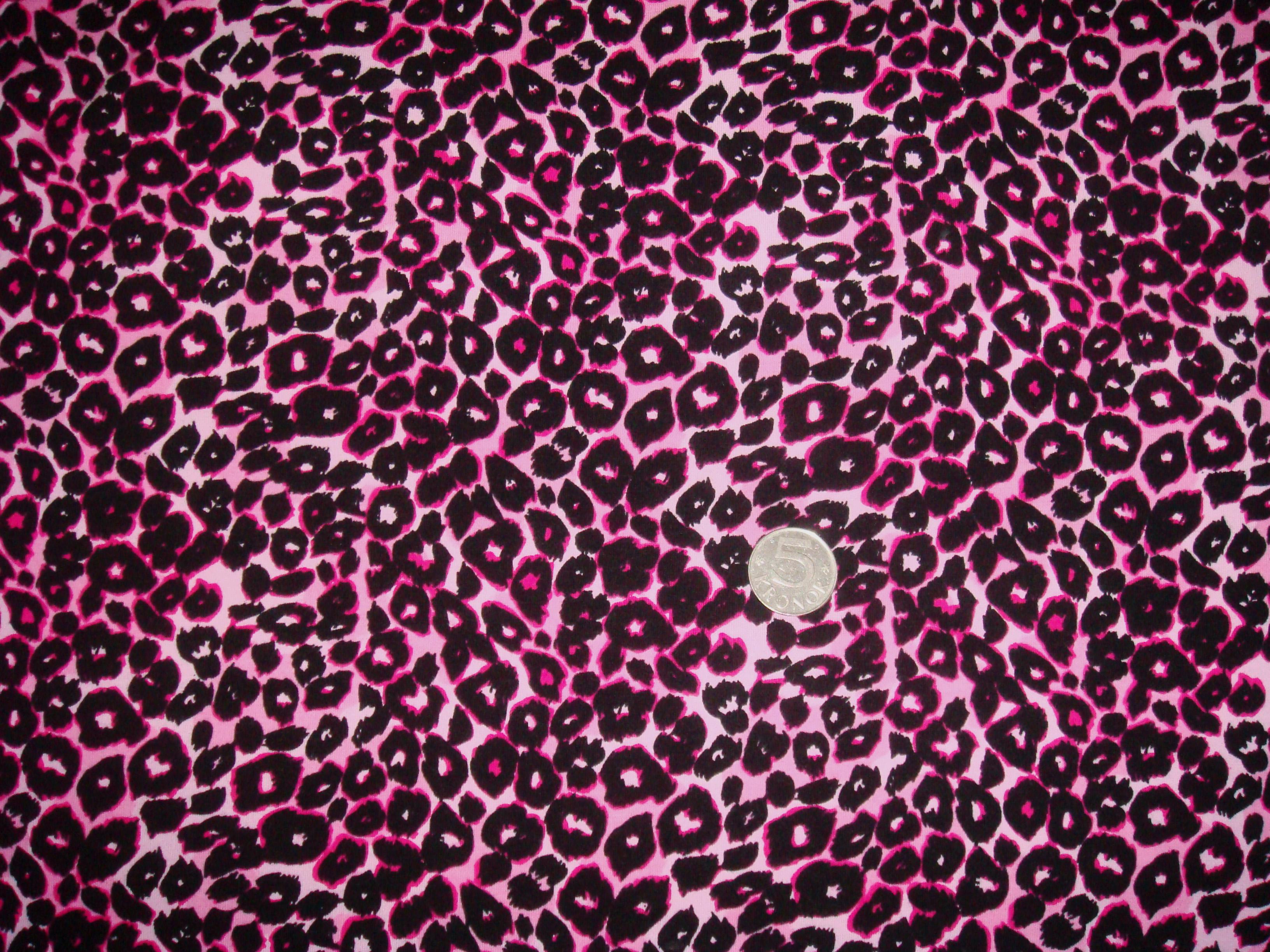 Leopard Rosa #223, ökotex