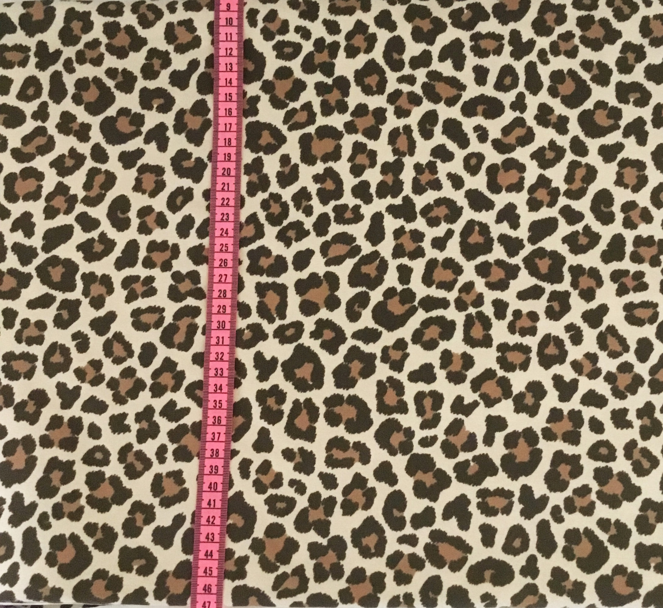 Leopard Brun/Beige #544, ökotex