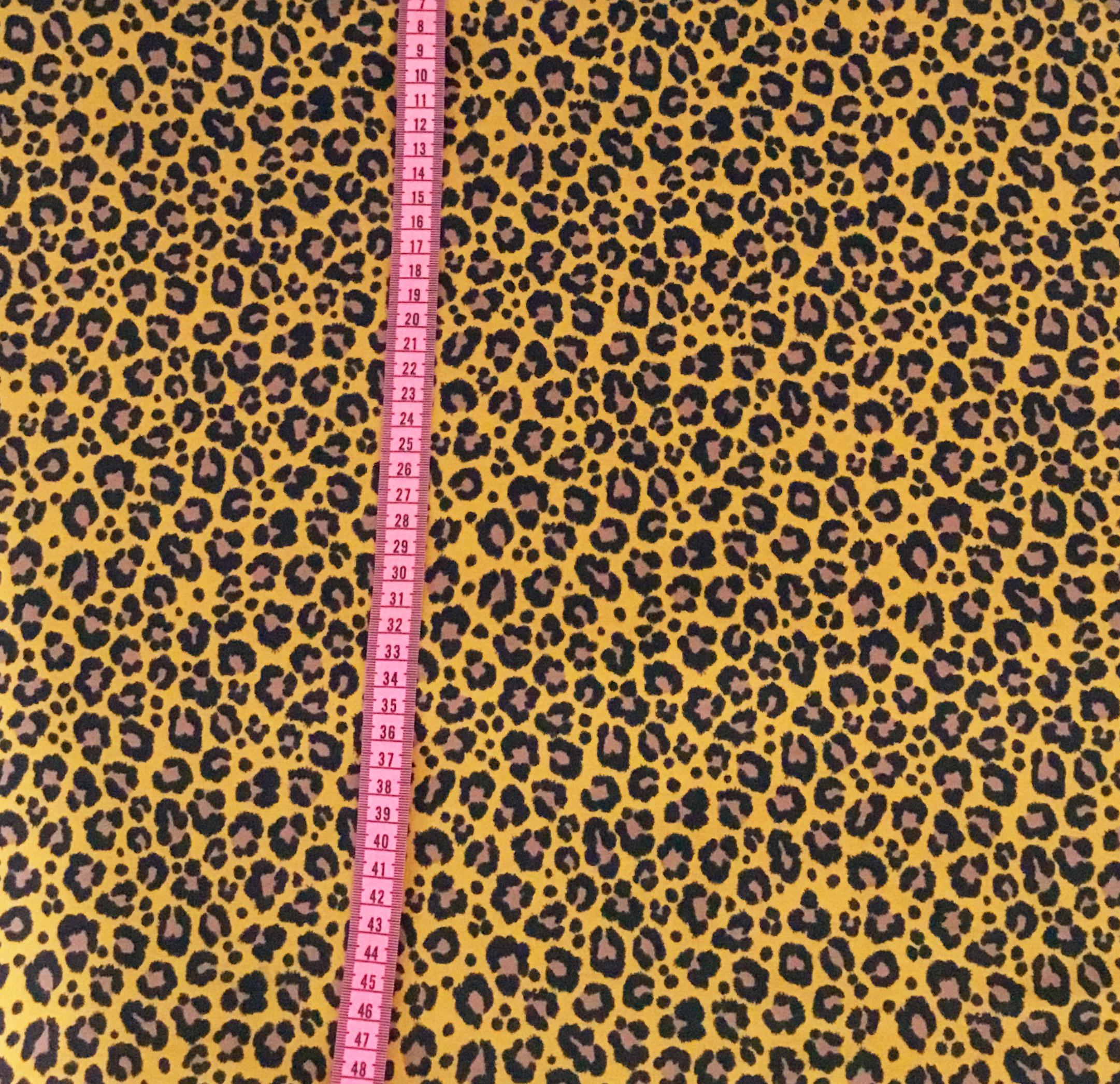 Leopard Mini, Senap #546, ökotex