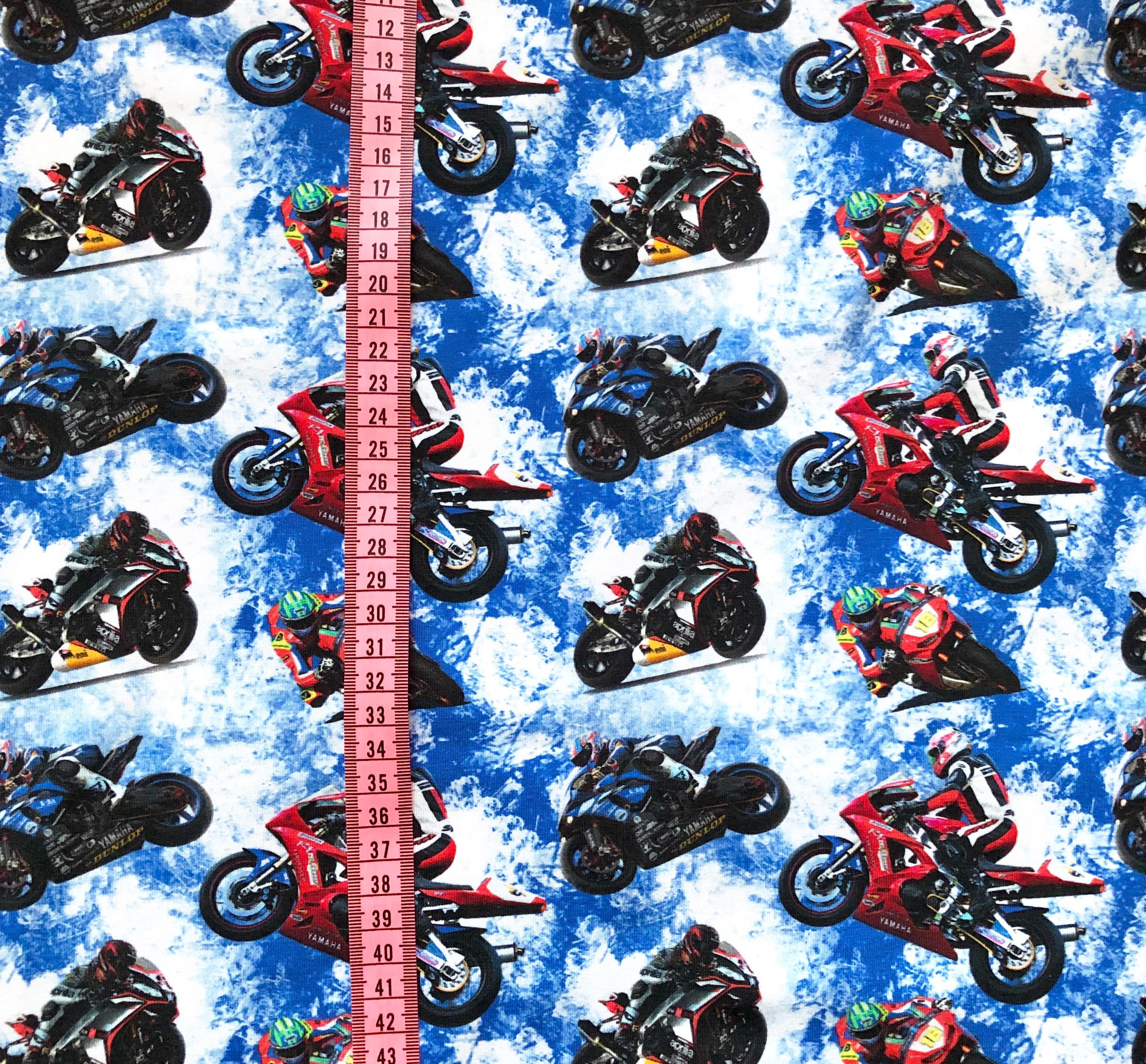Motorcyklar, Blå #522, eko