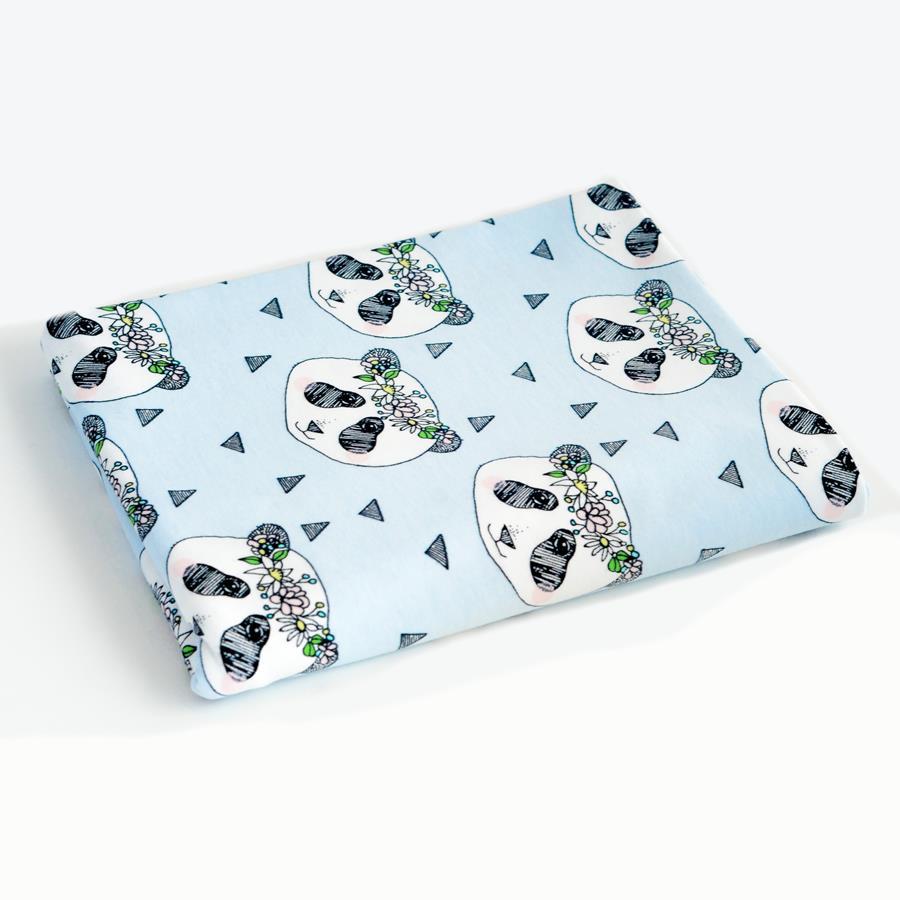 Panda Krans, Ljusblå #299, eko
