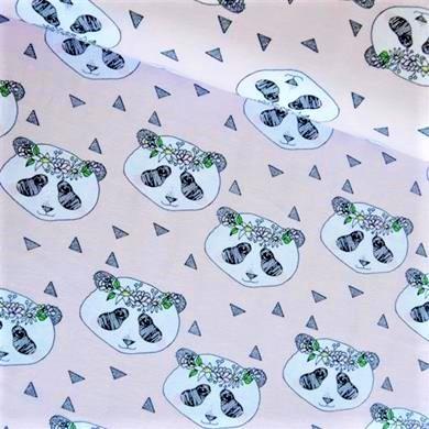 Panda Krans, Ljusrosa #300, eko