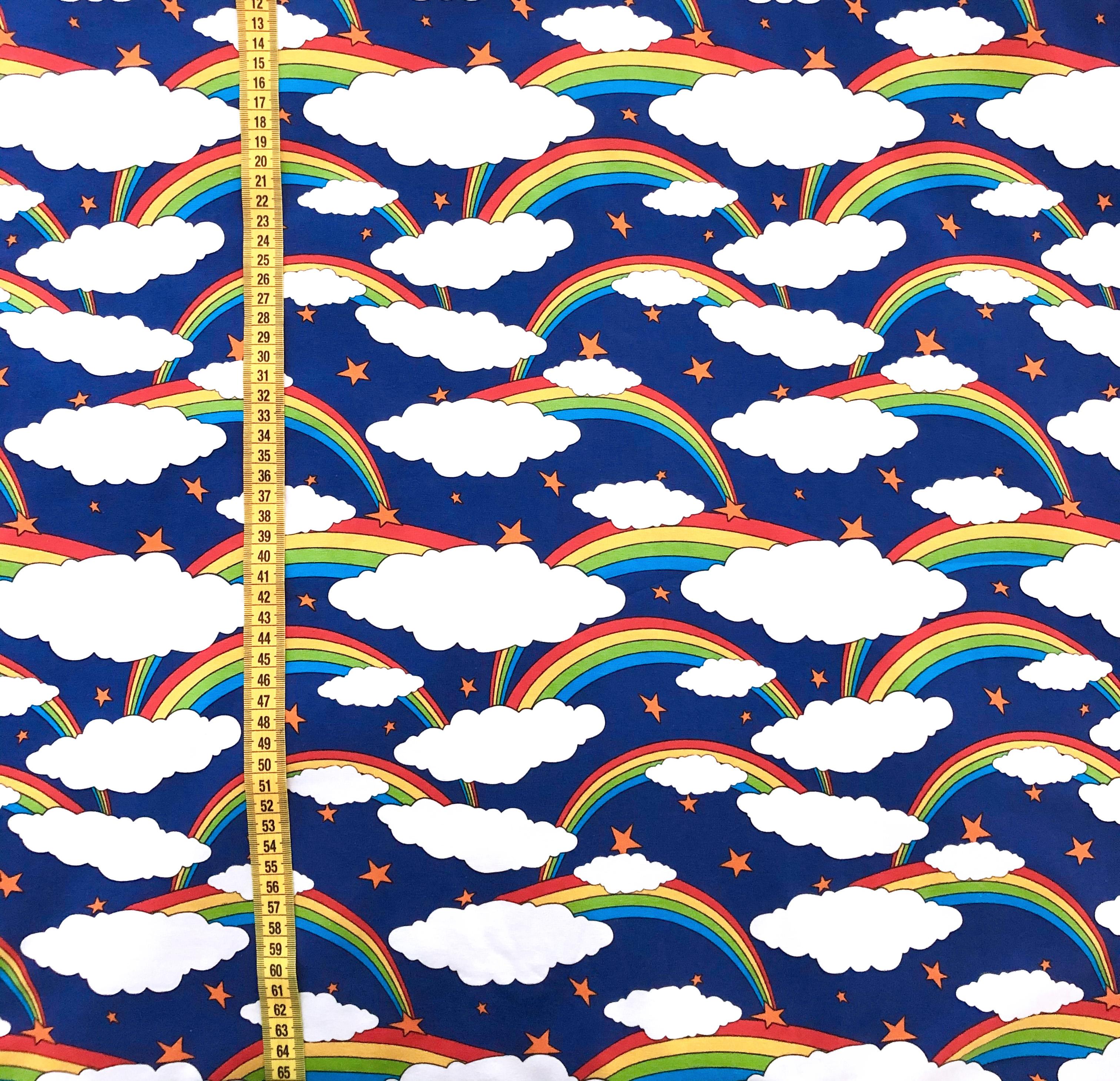 Regnbågsmoln, Blå #604, ekotyg