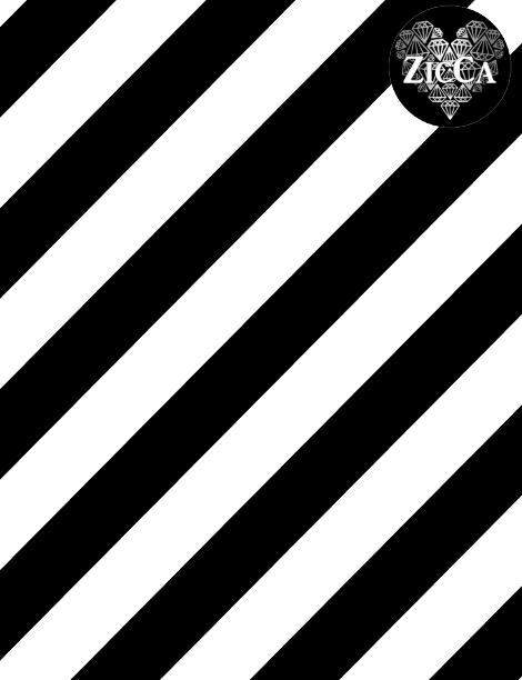 Ränder Diagonal, Sv/V #507, eko GOTS, Randbredd: 3,5cm/färg