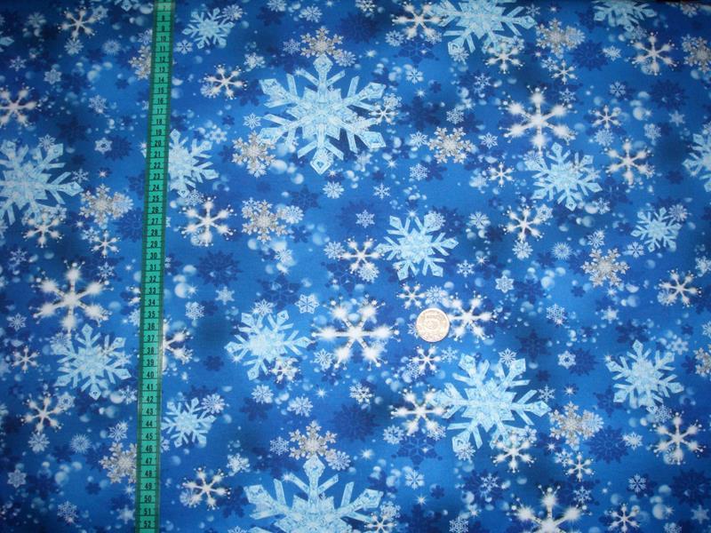 Snöstjärna, Blå #477, ökotex