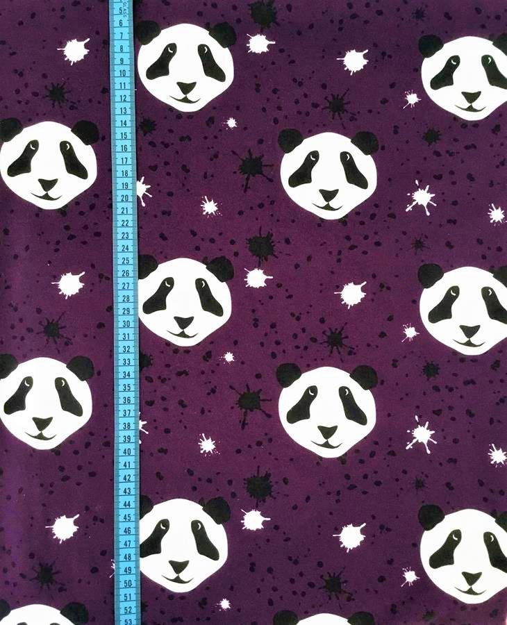 Splat! Panda, Lila #505, eko GOTS