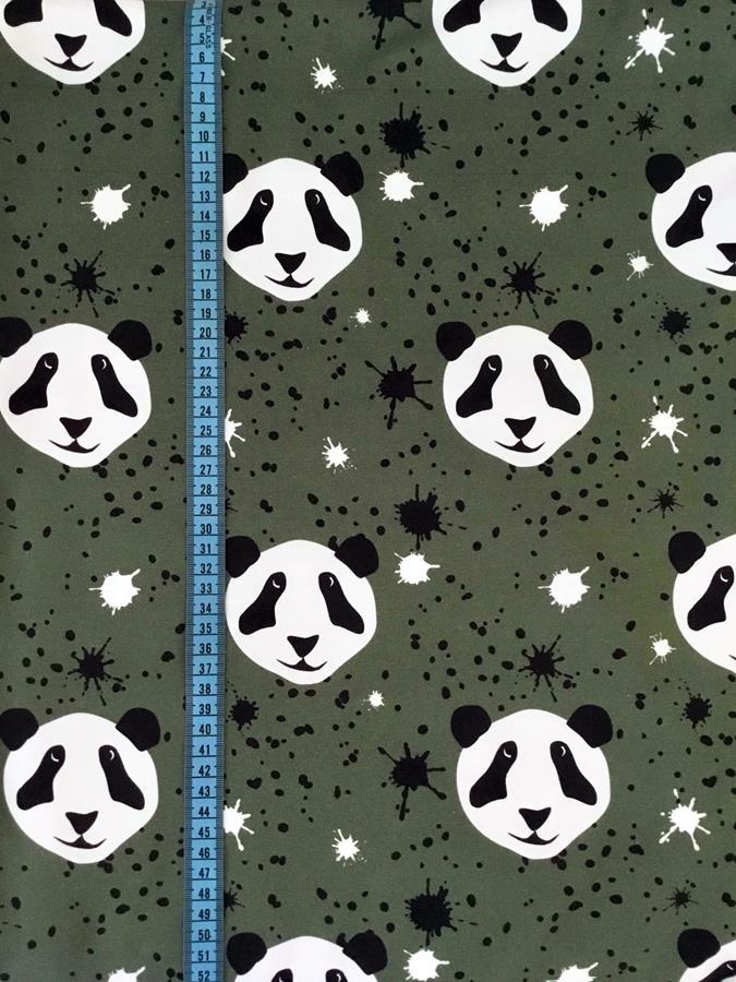 Splat!Panda, Armygrön #504, eko GOTS