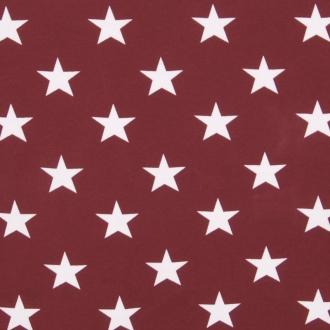 Stjärna, Vinröd #308, ökotex