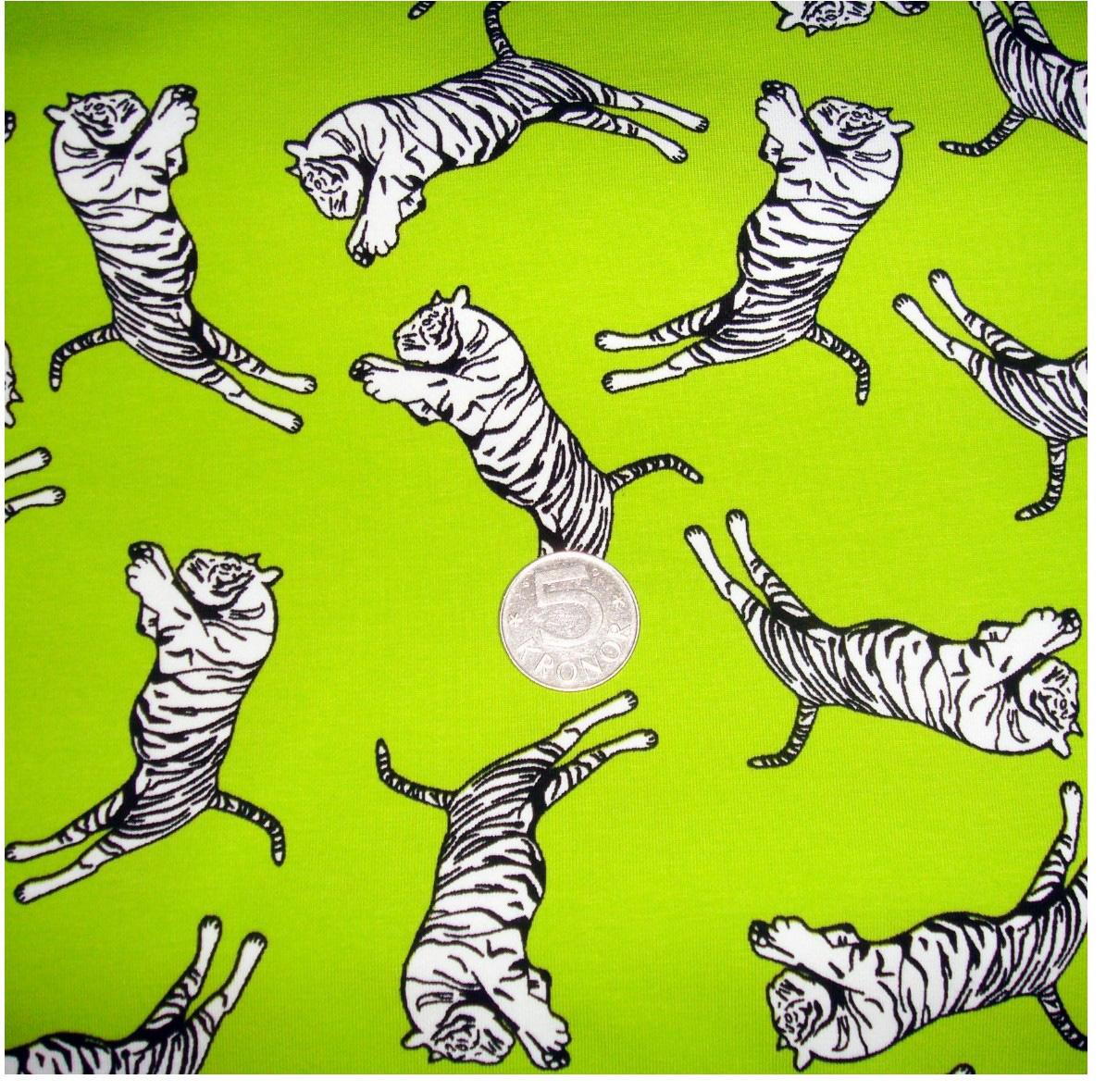 Tigrar, Lime #187, ökotex