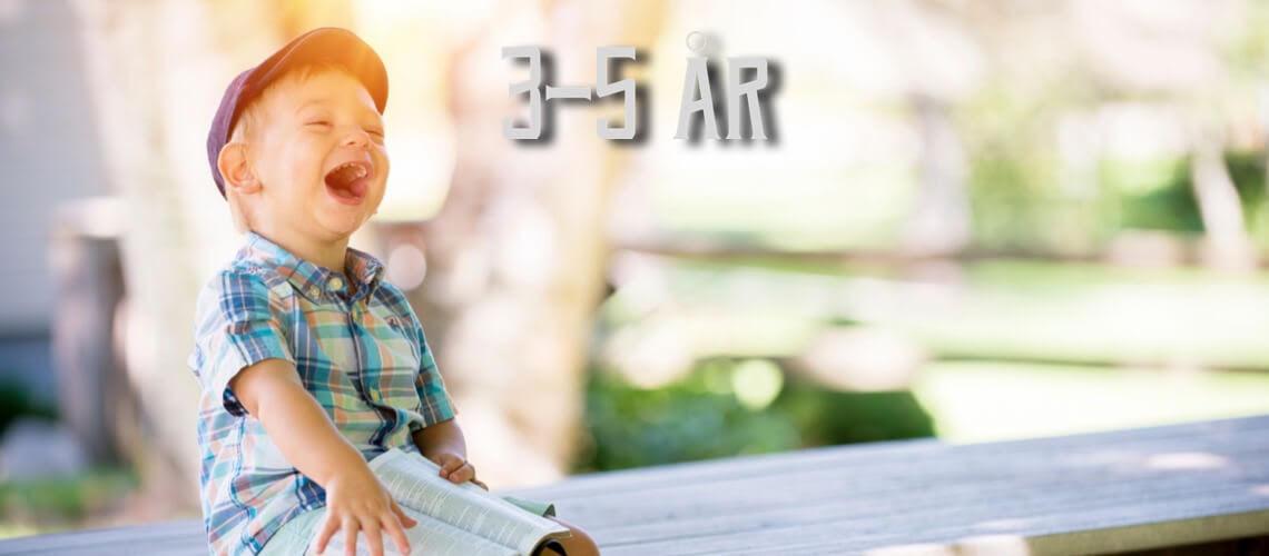 Leksaker, presenter, julklappar, spel, pyssel och pussel för barn som är 3, 4 eller 5 år