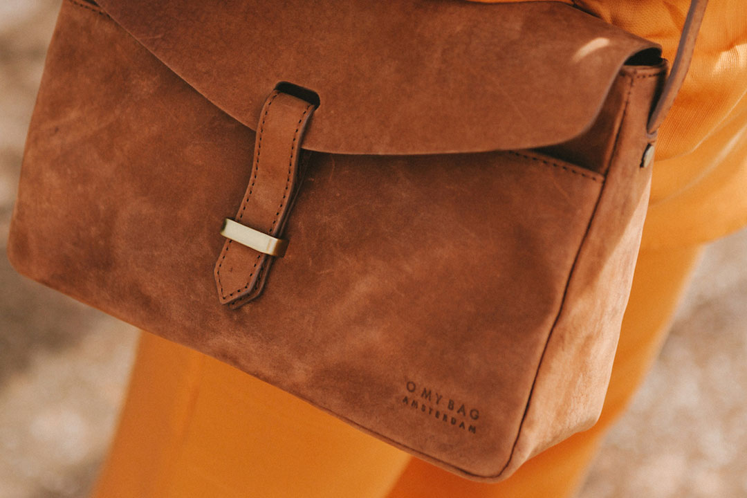 Ally Midi från O My Bag, i naturgarvat läder