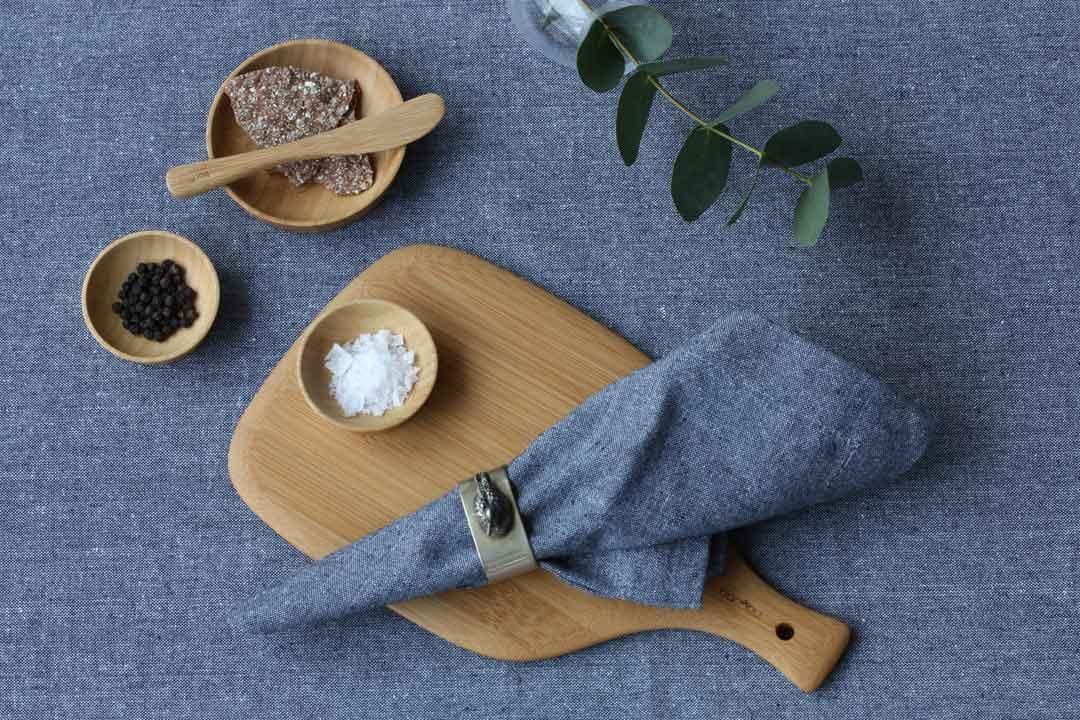 Klimatsmarta kökstillbehör: bambu och återvunnen textil Recycled by Wille