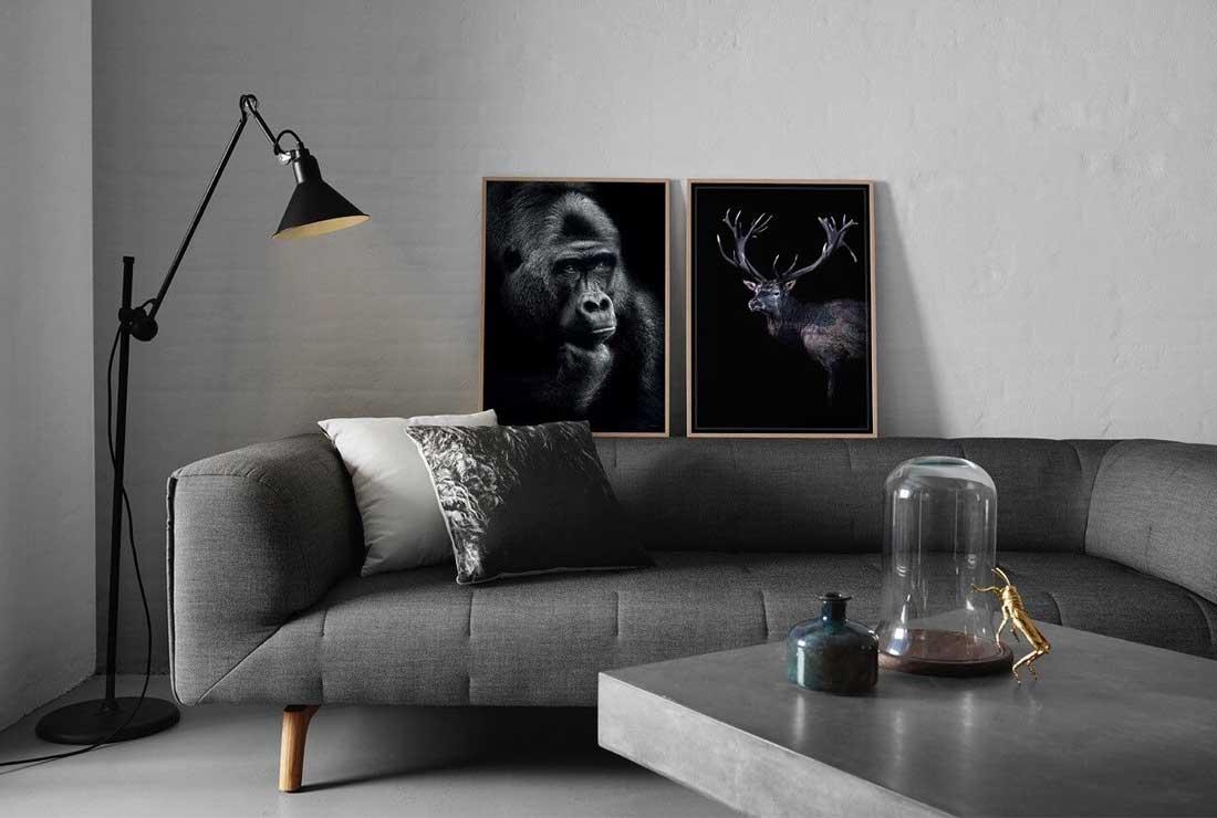 Snygga inredningsdetaljer som också är miljövänliga: fotokonst från ChiCura.