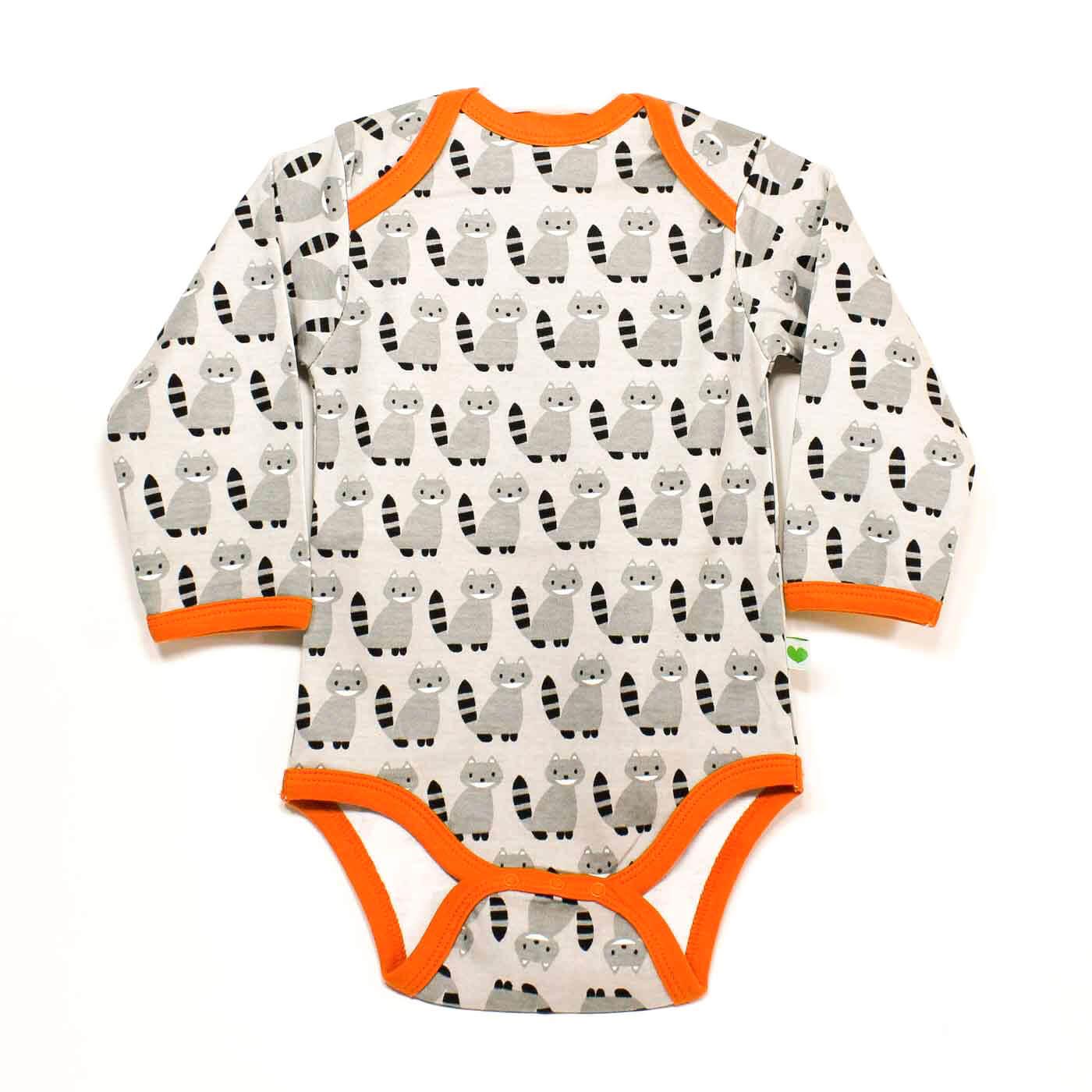 Sture & LIsa, babykläder motiv Tvättbjörn.