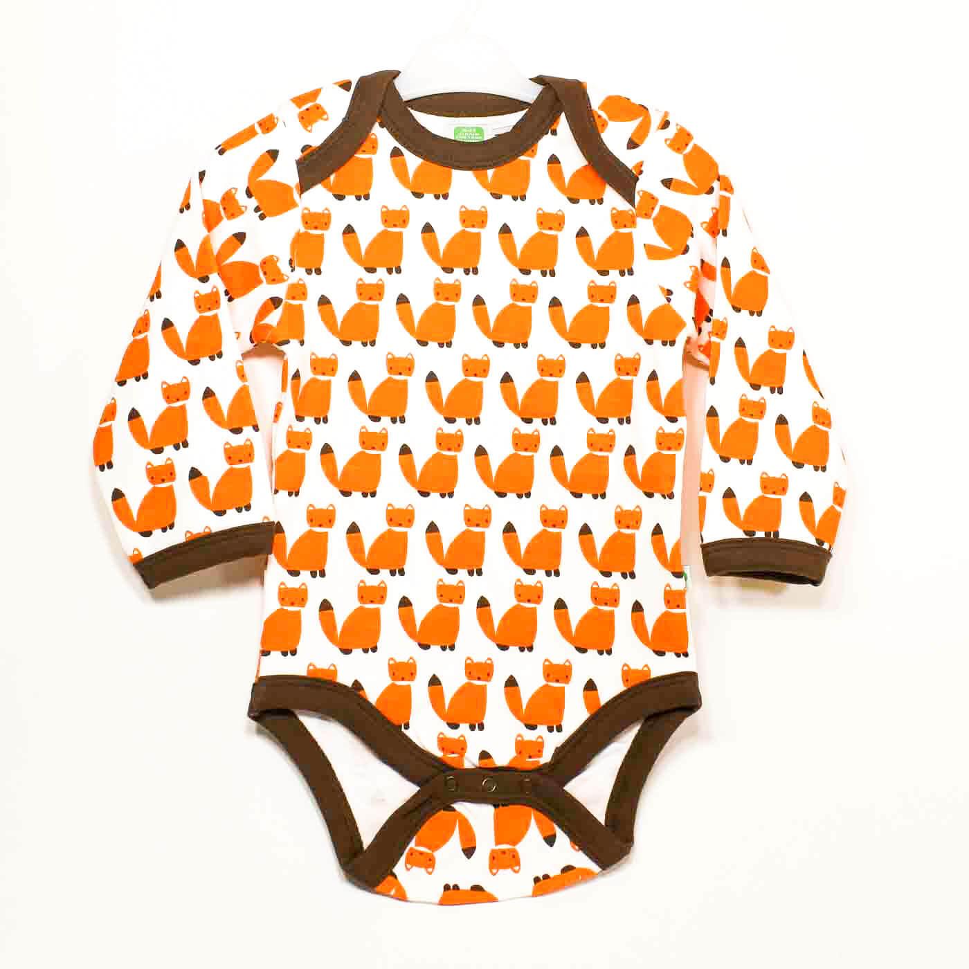 Sture & LIsa, babykläder motiv Räv.