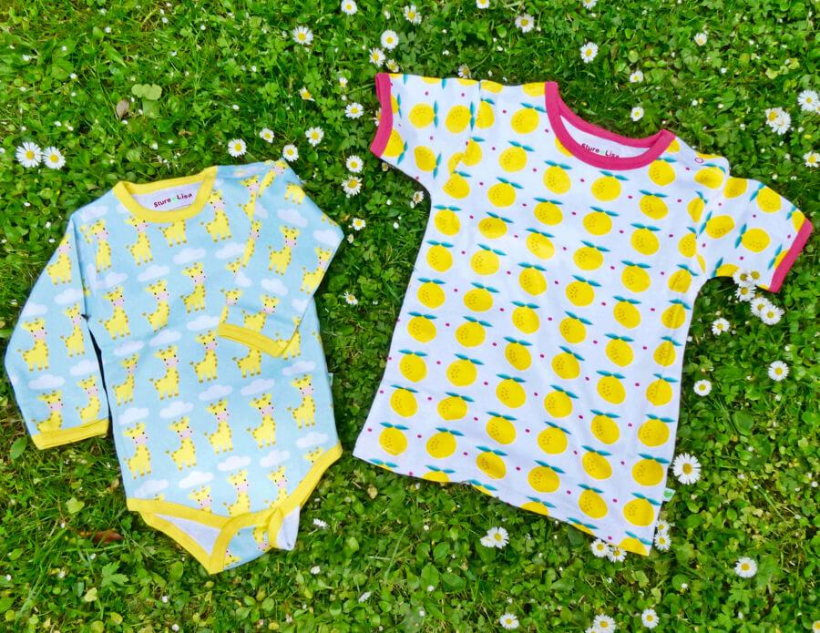 Nya motiv på babykläder från Sture & Lisa.