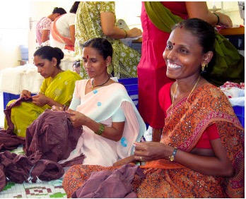Creative Handicrafts Indien Fair Trade. Foto: el puente Fairer Handel.