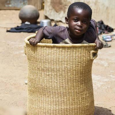 korgar från Ghana kan användas på många sätt(Foto: Hammershus Fairtrade)