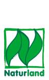 logotyp för eko-certifiering genom tyska Naturland e.V.