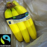 Fairtrade-märkta bananer