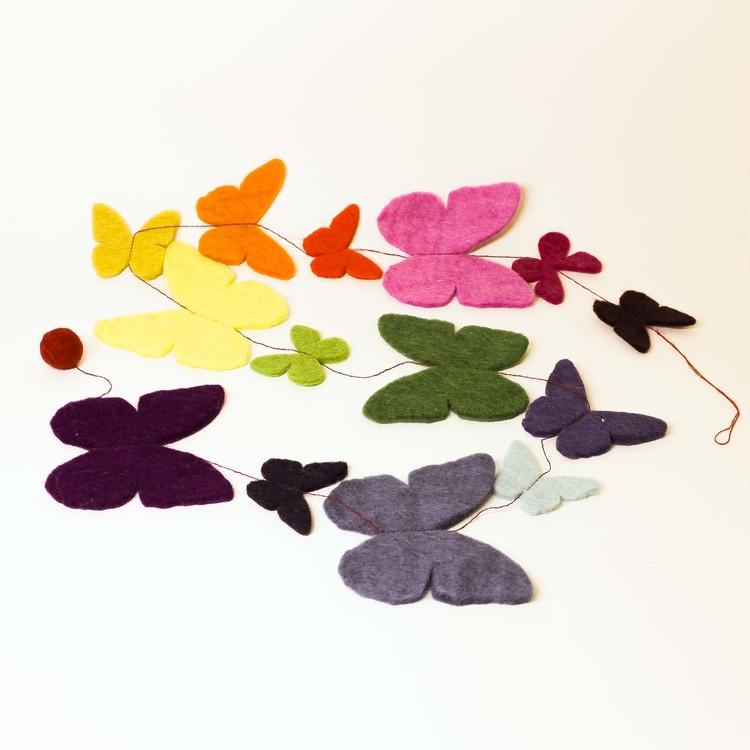 Girlang 'Fjärilar', tovad