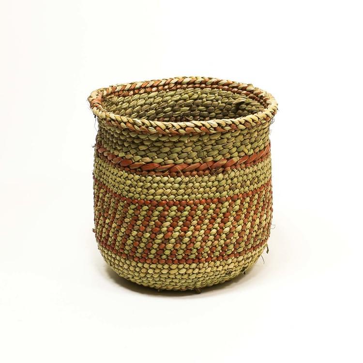 Korg 'Njombe', Iringa, terracotta, 12 cm