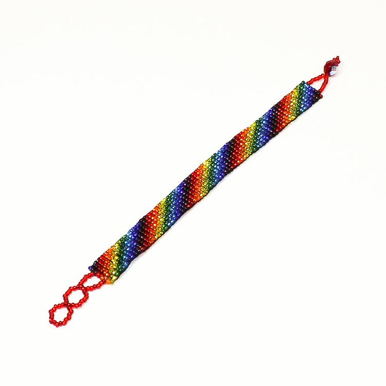 Armband 'Regnbåge'