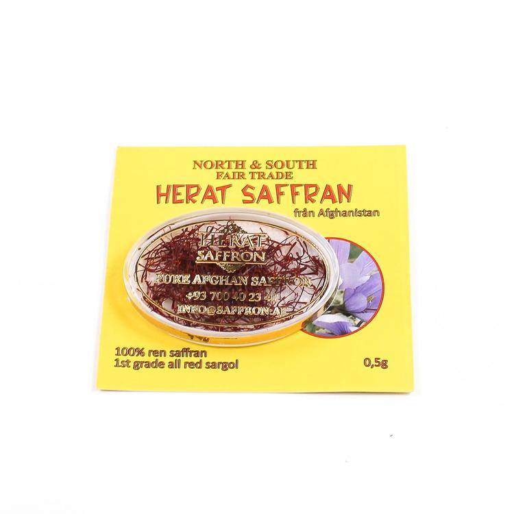 Saffran, Sargol, ekologisk