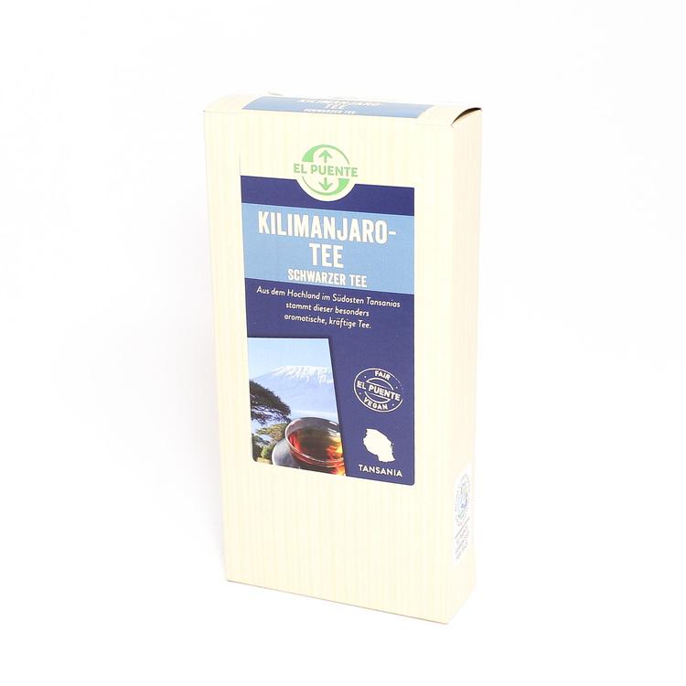 Kilimanjaro -ett kraftigt svart te, premium-kvalitet från små teodlingar på höglandet i södra Tanzania. Nästan pulvriserade teblad.