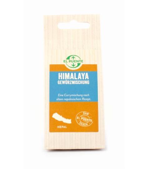 Curryblanding Himalaya, stark. från Nepal, etisk handel. Refillpåse.