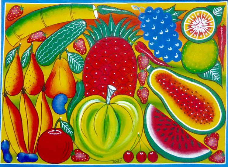 Tingatinga kort, frukter